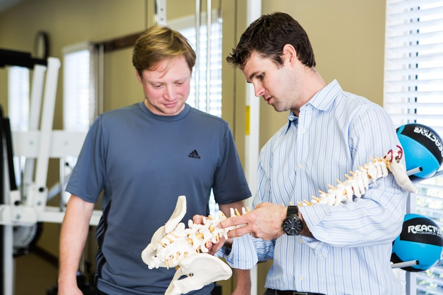 Ed with spine model